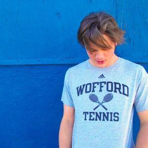 Adidas WOFFORD TENNIS Gray Size M T-Shirt